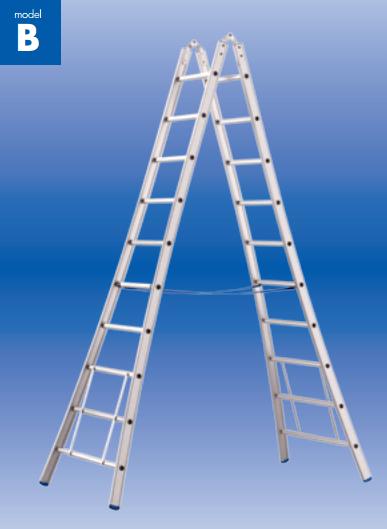 hoge scharnier ladder